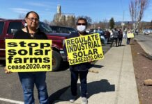 Even in the bright of day, some central Washington residents have a solar energy 'nightmare'